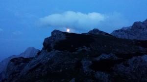 Luna nekje nad Draškem vrhom